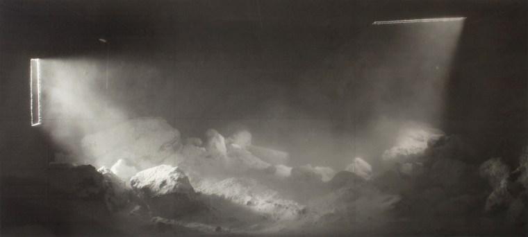 Storm I, 2017, Digital Print, 4 x 9'