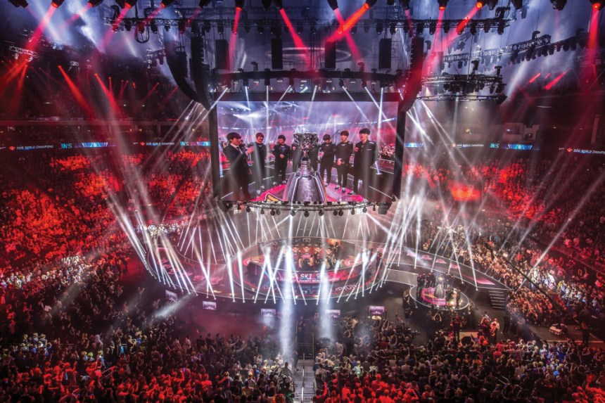 League of Legends world championship was held in Berlin, Germany this year.