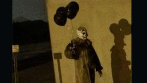 The clown believed to be the first clown seen in 2016. Photo courtesy of The Green Bay Clown/Facebook