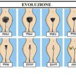 L'evoluzione della vagina…..Da pelosa a pelata