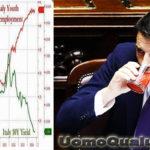 Renzi e il bicchiere vuoto