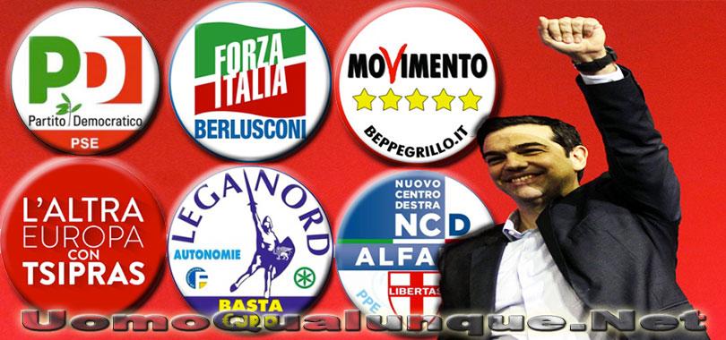 Son tutti tsipras col culo dei greci for Tutti i politici italiani