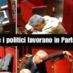 Indice di Produttività Parlamentare 2015: Due terzi dei nostri parlamentari lavorano poco