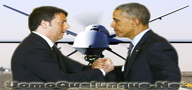 Obama-Renzi-droni