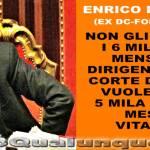 Il Vitaliziato stipendiato: Enrico La Loggia, 11mila euro al mese