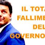 Il fallimento della politica economica del governo Renzi
