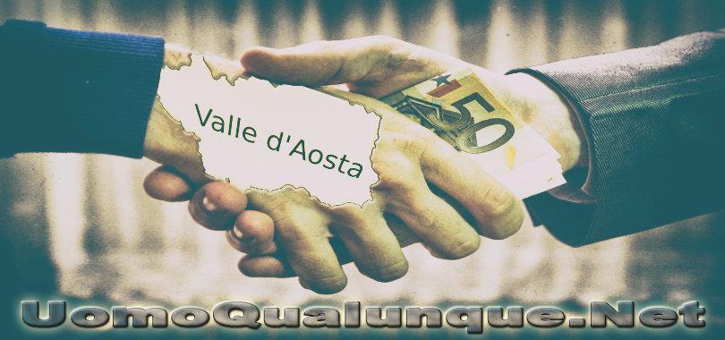 Corruzione Valle d'Aosta