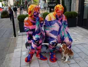 Yarn bombing 9