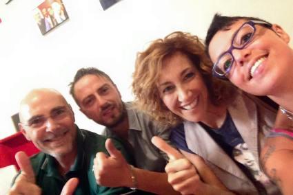 Cristian Di Nardo, Roberta Garzia e Sara Vannelli