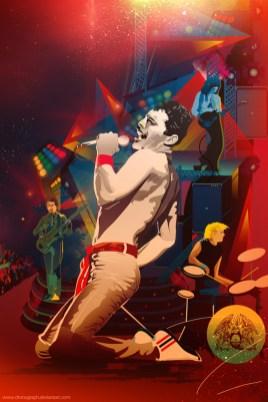 Freddie Mercury Queen Alticocca