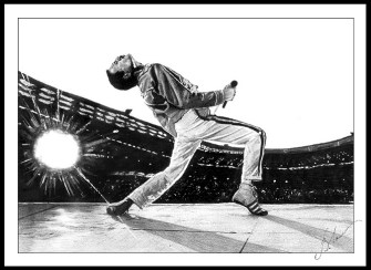 Freddie Mercury Queen Dreamcloser
