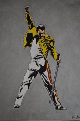 Freddie Mercury Queen John Fairbrother