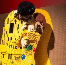 Nathan Sawaya e i Lego - Gustav Klimt