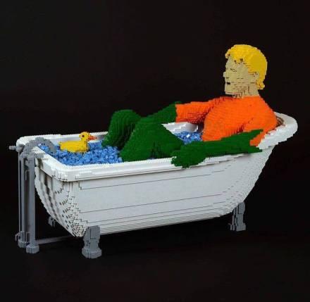 Nathan Sawaya e i Lego - Splish Splash