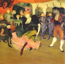 Marcelle Lender doing the Bolero in 'Chilperic' (1895)