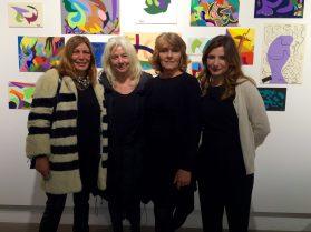 Irene Bozzi, Enrica Fico, Barbara Carniti e Francesca Anfosso