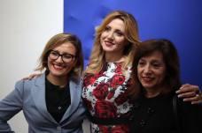 Barbara Molinario, Iolanda Pomposelli e Daniela Colucci