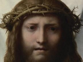 Correggio (Antonio Allegri), Volto di Cristo, 1518 circa, Olio su tavola, 28.6 x 23.5 cm, Los Angeles, J. Paul Getty Museu