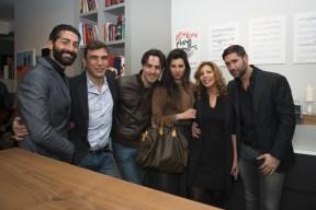 Salvo Cagnazzo, Francesco Stella, Tommaso Gandino, Valeria Mancini, Tina Vannini e Ludovico Palla