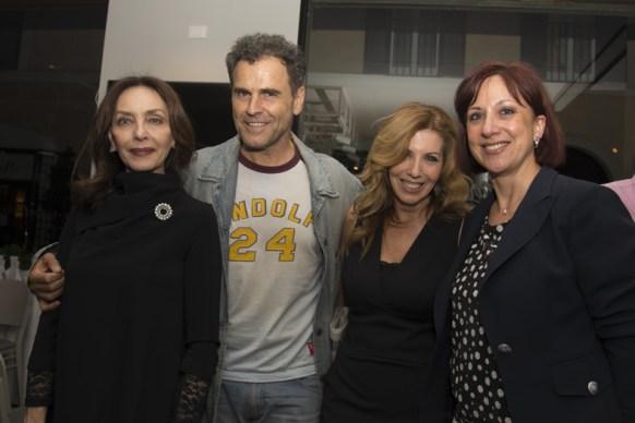 Maria Rosaria Omaggio, Pino Quartullo, Tina Vannini ed Emanuela Scanu