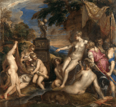 Tiziano Diana e Callisto 1556-9