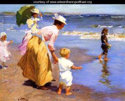 Edward Henry Potthast - At the Beach