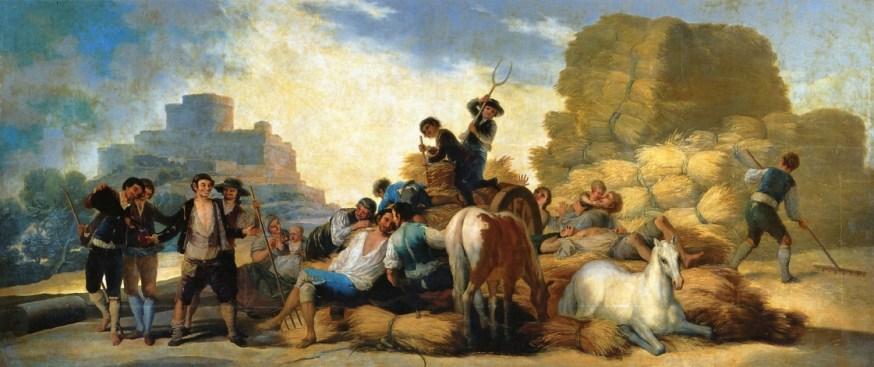 FRANCISCO GOYA - Estate (1786)