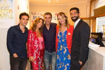 Marcello Maietta, Tina Vannini, Francesco Stella, Francesca Barbi Marinetti, Salvo Cagnazzo