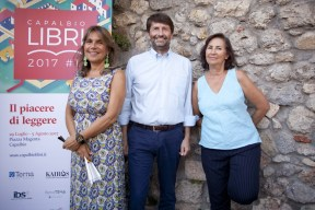 Denise Pardo, Dario Franceschini, Teresa Cremisi