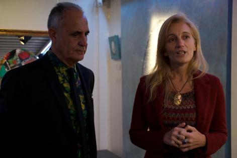 Natino Chirico e Valeria Arnaldi