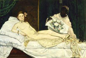 """Édouard Manet_s """"Olympia"""". Eros e sesso nell'arte"""