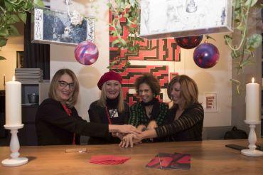 Francesca Barbi Marinetti, Gisella Gatto, Lucia Collarile, Tina Vannini