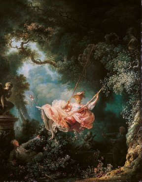 "Jean-Honoré Fragonard_s ""The Swing"". Eros e sesso nell'arte"