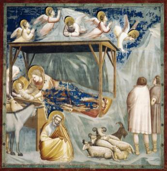 Nativity by Giotto (1303-05)