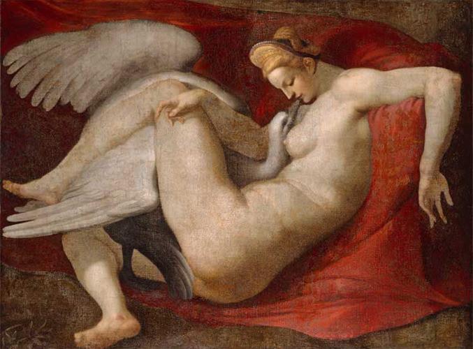 "Peter Paul Rubens_s copy of Michelangelo_s ""Leda and the Swan"". eros e sesso nell'arte"