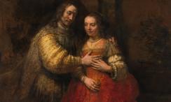 Rembrandt The Jewish Bride (c1666). eros e sesso nell'arte