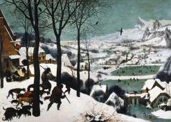 The Hunters in the Snow by Pieter Bruegel the Elder (1565)