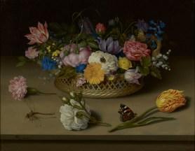 Ambrosius Bosschaert - Still Life of Flowers, 1614