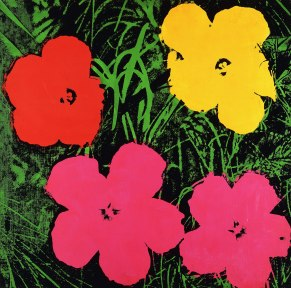 Andy Warhol - Flowers, 1970