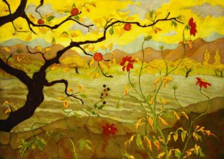Paul Ranson. Apple Tree with Red Fruit, (c.1902)