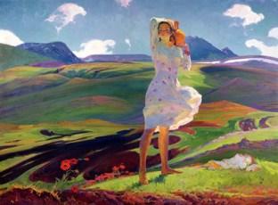 Springtime, 1956 by Hovhannes Zardarian