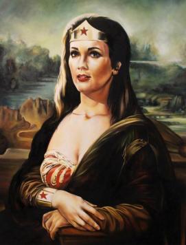 wonderlisa, olio su tela 2013 60x80