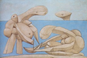 Pablo Picasso, On the Beach (1937)