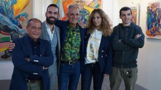 Da sx Nino Attinà, Roberto Di Costanzo, Natino Chirico, Roberta Cima, Valerio Prugnola