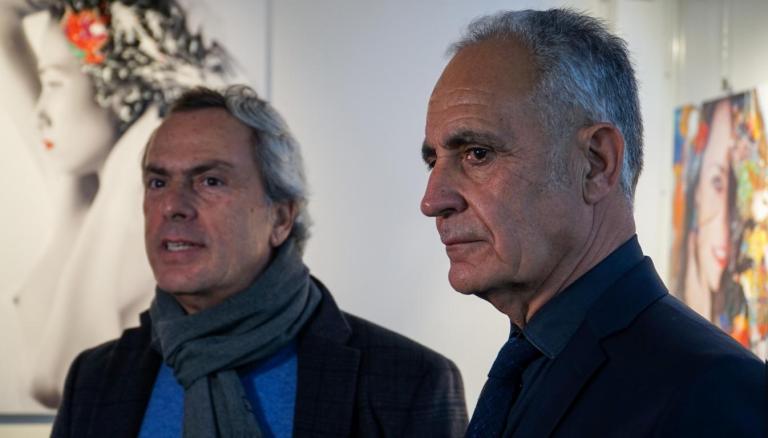Giorgio Guglielmini e Natino Chirico