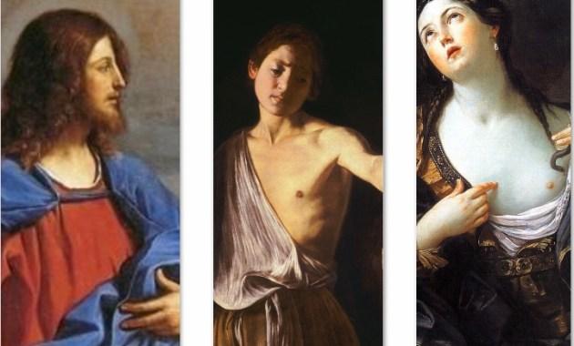 Guercino, Caravaggio e Guido Reni, i nomi del Seicento Italiano