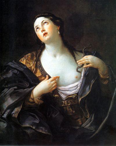 Guido Reni, Il suicidio di Cleopatra