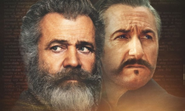 Il professore e il pazzo, con Mel Gibson e Sean Penn
