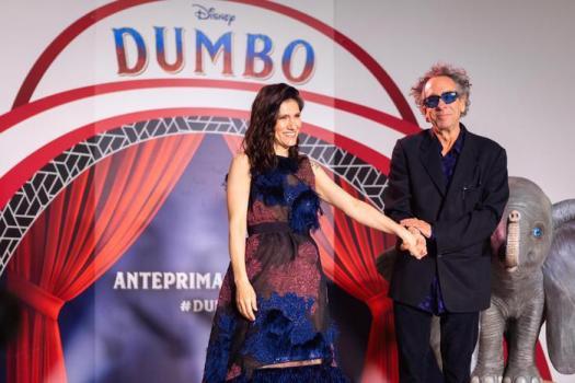 ELISA e TIM BURTON