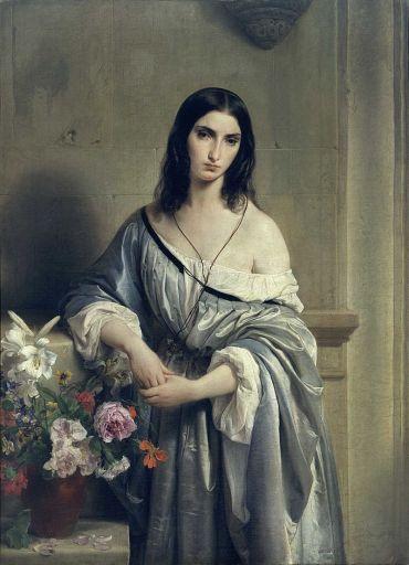 "F.-Hayez-""Malinconia""-1840-42-Pinacoteca-di-Brera"